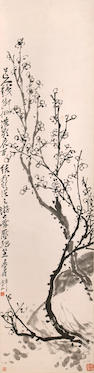Wu Changshuo (1844-1927)  Plum Blossoms, 1921