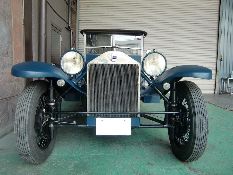 <b>1926 LANCIA LAMBDA 6TH SERIES TORPEDO TOURER  </b><br />Chassis no. 14656 <br />Engine no. 4709