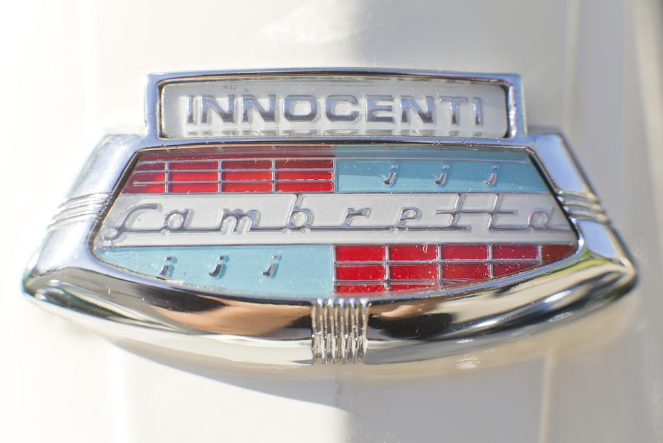 <b>1964 Lambretta 200/225 'S' Type Turismo Veloce Series III Version Two </b><br />Frame no. TV3531765 <br />Engine no. TV2533970