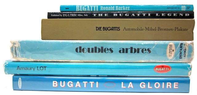 A lot of Bugatti titles,