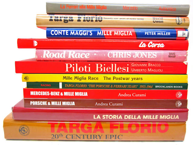 A collection of Mille Miglia and Targa Florio titles,