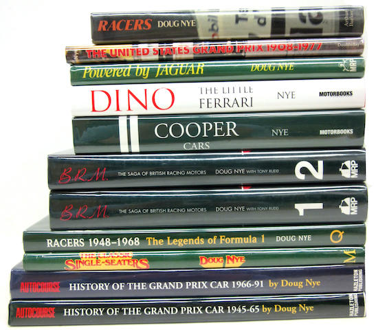 A good lot comprised of Doug Nye titles,