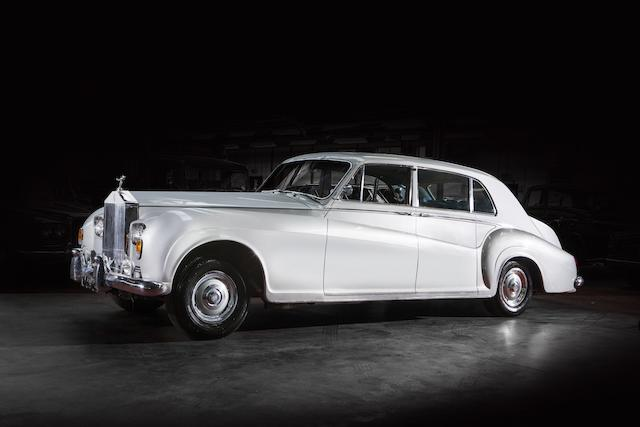 <i>The ex-King of Rock 'n' Roll – Elvis Presley</i><br /><b>1963 ROLLS-ROYCE  PHANTOM V TOURING LIMOUSINE  </b><br />Chassis no. 5LVA55 <br />Engine no. A27PV
