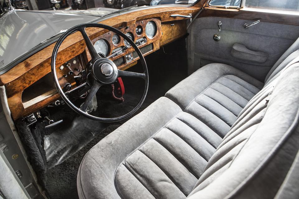 <i>The ex-King of Rock 'n' Roll – Elvis Presley</i><br /><b>1963 ROLLS-ROYCE  PHANTOM V TOURING LIMOUSINE  </b><br />Chassis no. 5LVA55 <br />Engine no. A27PV