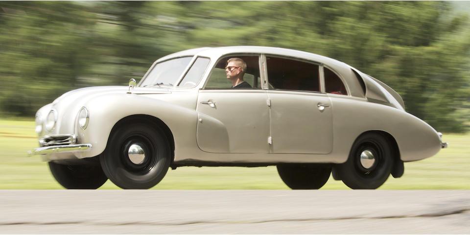 <i>Single family ownership since 1975</i><br /><b>1948 Tatra T87 Sedan  </b><br />Engine no. 222667