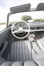 <b>1963 MERCEDES-BENZ 300SL ROADSTER  </b><br />Chassis no. 198042.10.003174 <br />Engine no. 198982.10.000137 (see text)