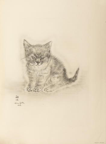 FOUJITA, TSUGUHARU, illustrator. 1886-1968. JOSEPH, MICHAEL. A Book of Cats.  New York: Covici Friede, 1930.