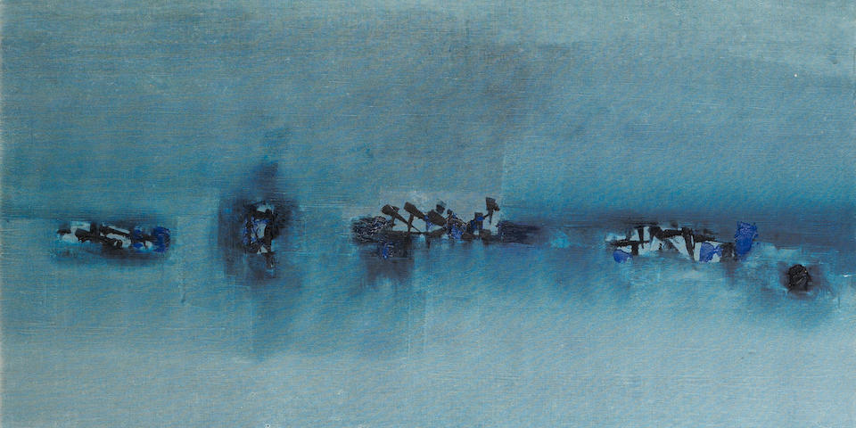 Vasudeo S. Gaitonde (1924-2001) Untitled, 1963