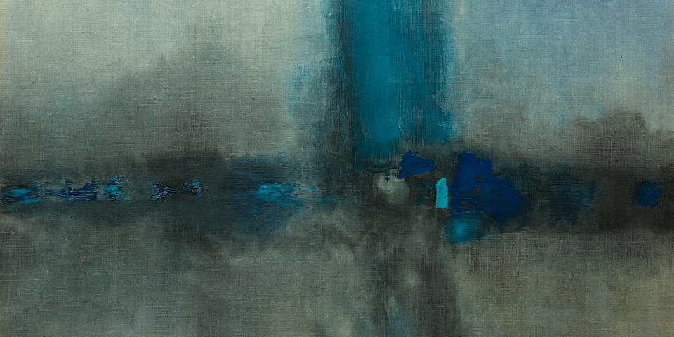 Vasudeo S. Gaitonde (1924-2001) Untitled, 1961