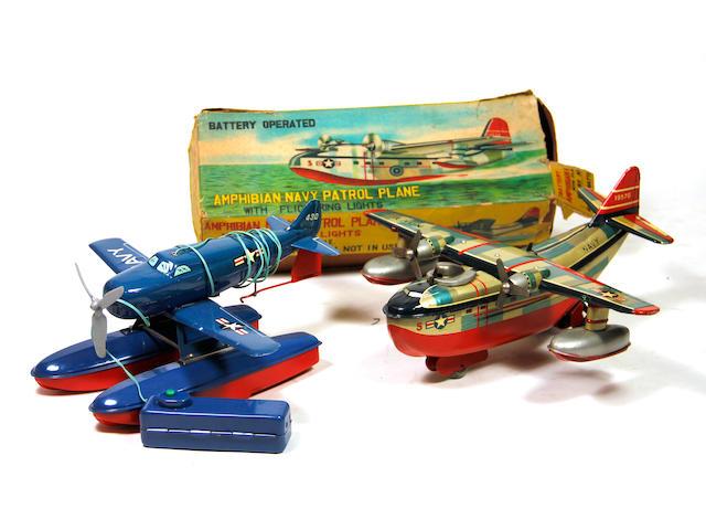 Japanese Amphibian Airplanes