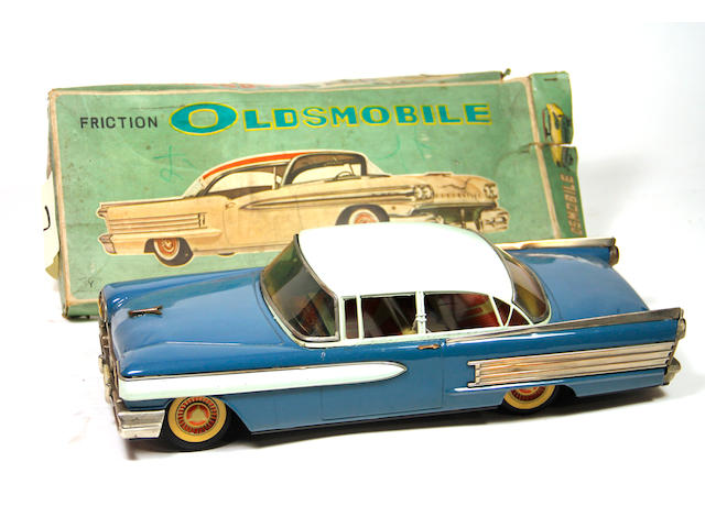 1958 Oldsmobile Friction Car with box