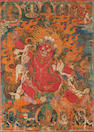 A thangka of Guru Dragpo Tibet, 17th/18th century