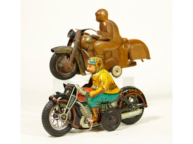 Condor Motorcycle with Prototype