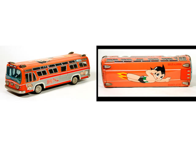 Astroboy-Mighty Atom Bus Lithographed Bus