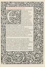 KELMSCOTT PRESS.  SHAKESPEARE, WILLIAM. 1564-1616. Poems. Hammersmith: Kelmscott Press, 1893.