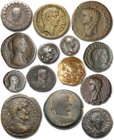 Collection of Ancient Greek, Roman and Byzantine Coins