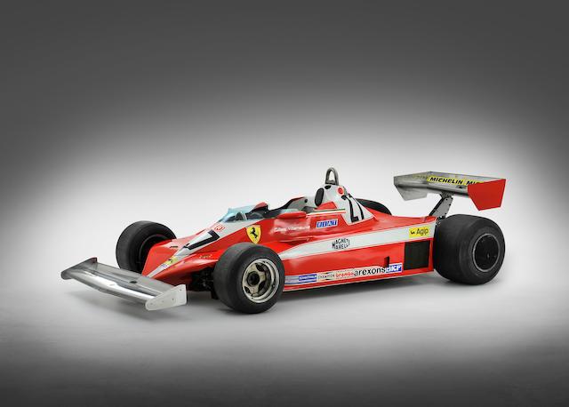 Bonhams The Ex Carlos Reutemann Gilles Villeneuve 1978