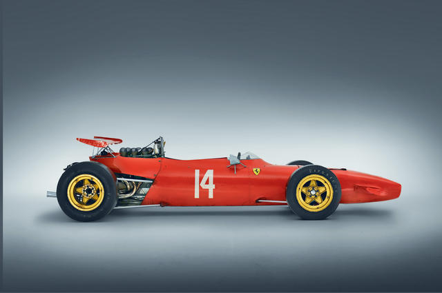 <i>The Ex-Chris Amon, Brian Redman, 'Tino' Brambilla, Graeme Lawrence, Back-to-back Tasman Championship-winning</i><br /><b>1968-69 FERRARI DINO 166/246T FORMULA 2/TASMAN FORMULA RACING SINGLE-SEATER</b><br />Chassis no. 0008