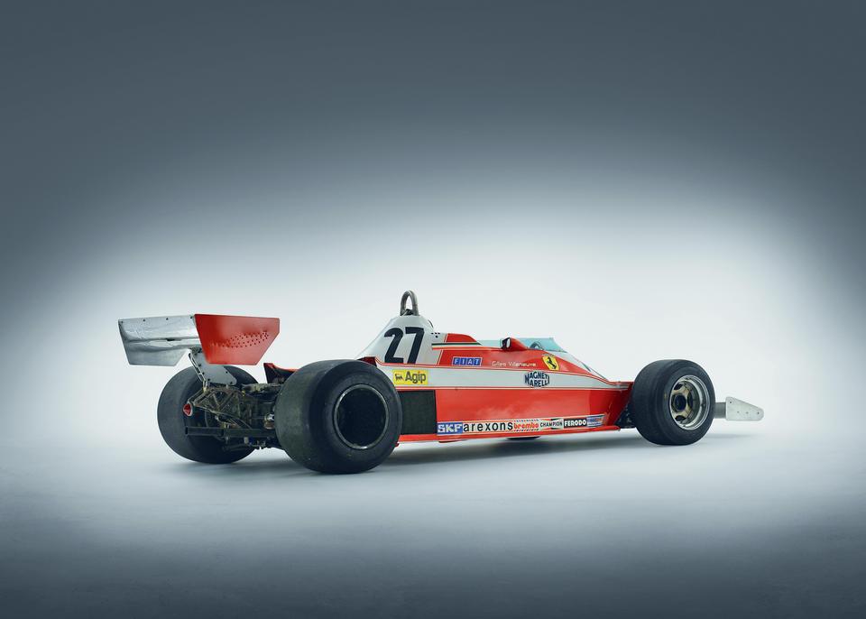 <i>The Ex-Carlos Reutemann, Gilles Villeneuve 1978 British Grand Prix-winning, 1979 Race of Champions-winning</i><br /><b>1978 FERRARI 312 T3 FORMULA 1 RACING SINGLE-SEATER</b><br /> Chassis no. 033