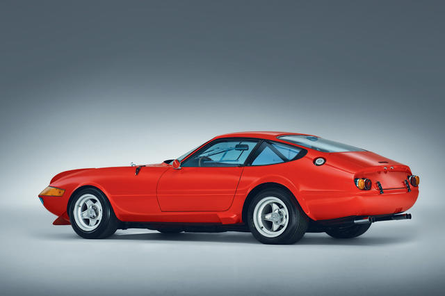 <b>1969 FERRARI 365 GTB/4 'DAYTONA' BERLINETTA COMPETIZIONE</b><br />Chassis no. 12765<br />Engine no. 12765