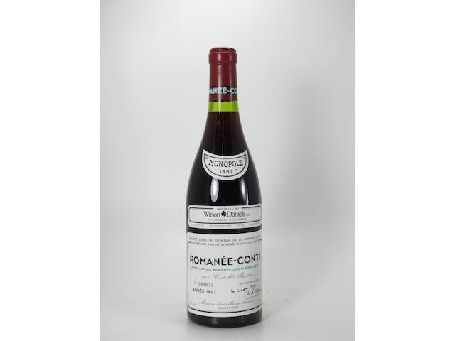 Romanée-Conti, DRC 1987 (1)