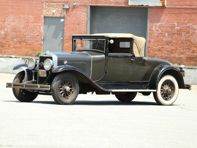 <b>1929 LaSalle Series 328 Convertible Coupe  </b><br />Engine no. 404414