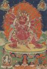 A thangka of Hayagriva  Tibet, 18th century