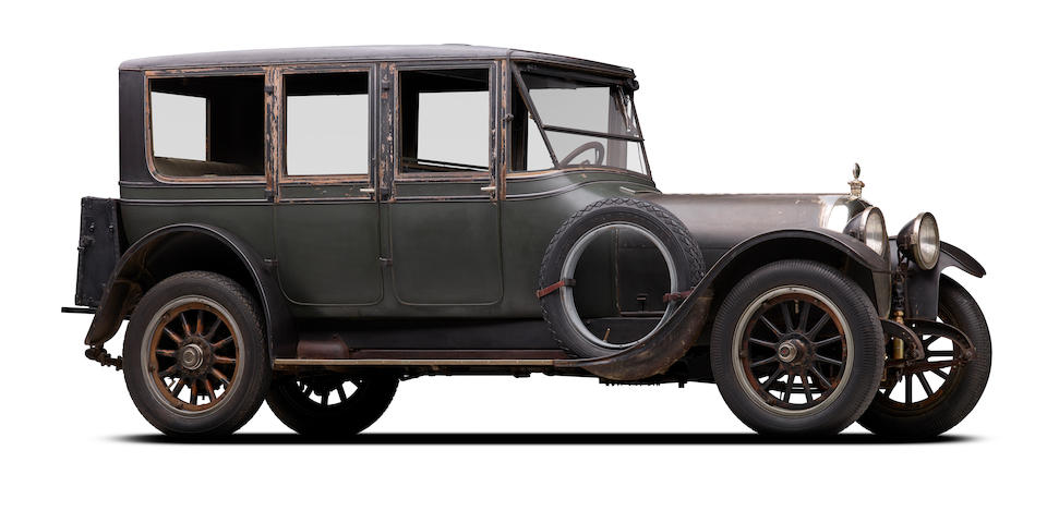 Originally supplied to Speed Boat Racer Commodore Jonathan Moore, four owners from new,1916 Simplex Crane Model 5 Berline  Chassis no. 2420