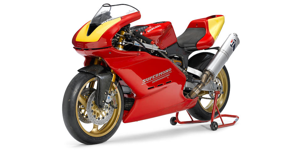 1995  Ducati Supermono Frame no. ZDM550R*000037 Engine no. ZDM550W4*000037