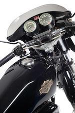 7F24587H8 1978 Harley Davidson XLCR Cafe Racer Frame No Engine