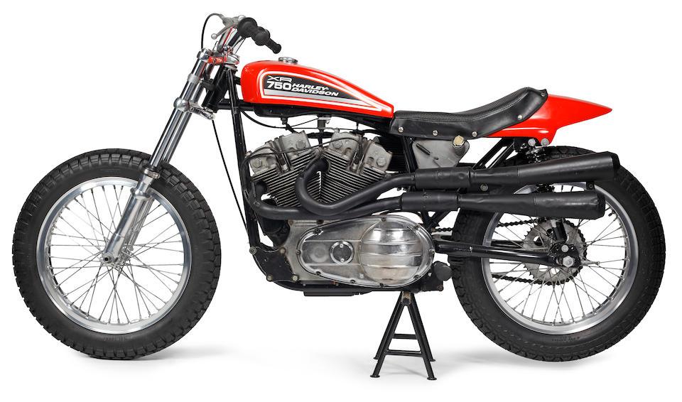 1972 Harley-Davidson XR-750 Dirt Tracker Engine no. 1C10059H3