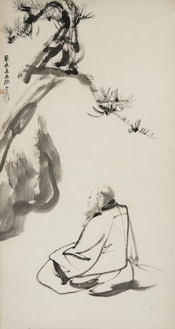 Zhang Daqian (1899-1983)  Self Portrait, 1961