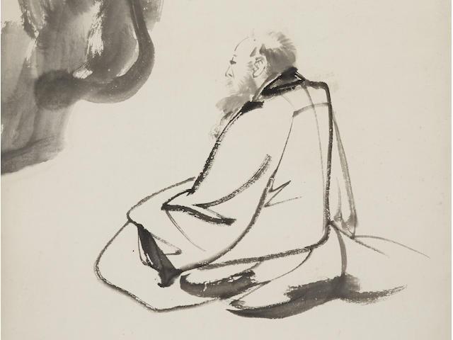Zhang Daqian (1899-1983)  Self Portrait, 1961