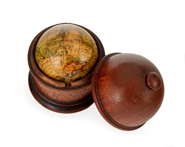 MINIATURE GLOBE; NEWTON & BERRY. Newton & Berry's New Terrestrial Globe. [London]: Newton & Berry, 1831.
