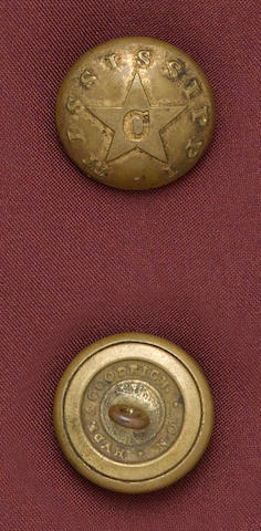 A State of Mississippi cavalry button