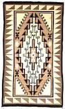 A Navajo Two Grey Hills rug