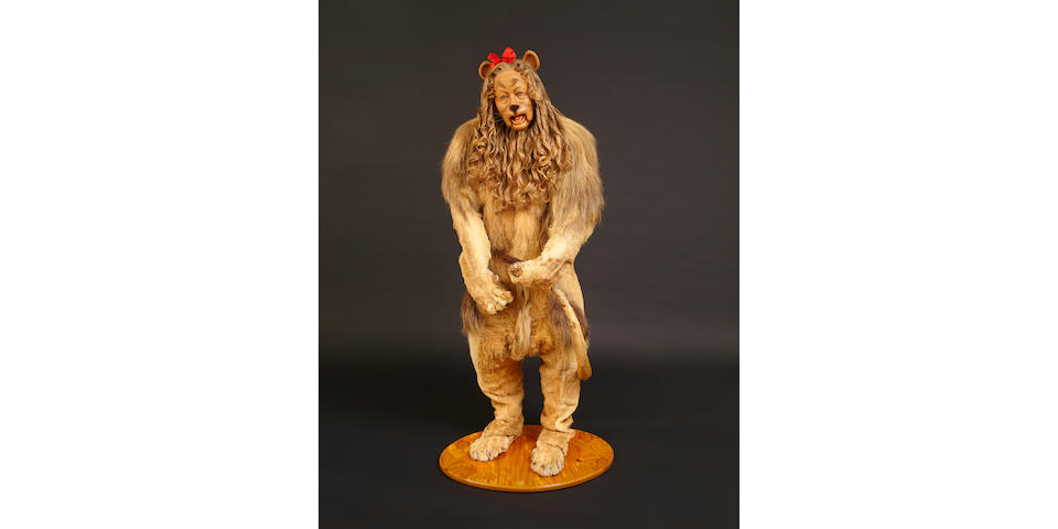 Bert Lahr's Cowardly Lion costume from the Wizard of Oz.