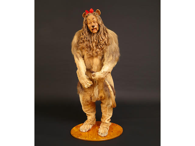Bert Lahr's Cowardly Lion costume from the Wizard of Oz