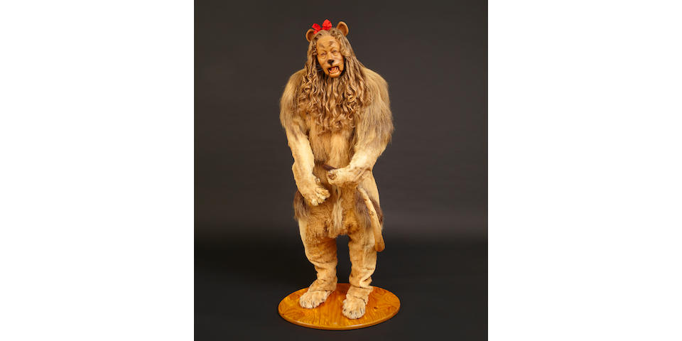 Iconic Cowardly Lion Costume to Reign Over TCM and Bonhams' November Auction