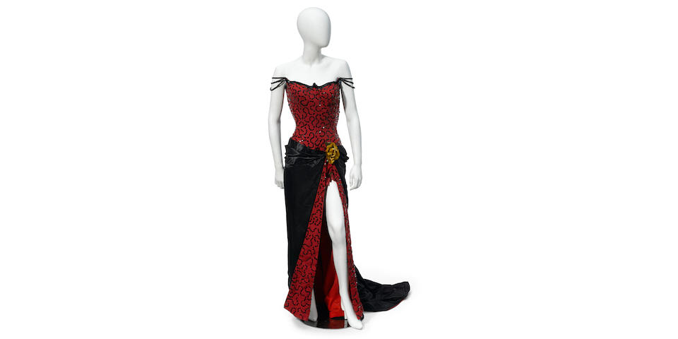 A Marilyn Monroe saloon gown from River of No Return