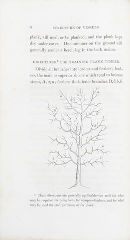 MATTHEW, PATRICK. 1790-1874. On Naval Timber and Arboriculture. Edinburgh: Adam Black; London: Longman, 1831.