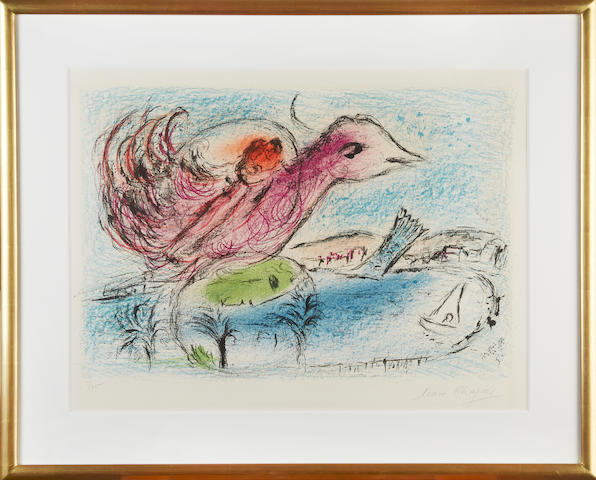 CHAGALL, MARC. Russian/French, 1887-1985. Baie.