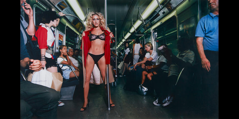 David LaChapelle (born 1964); Sarah Jessica Parker: Sex and The Subway