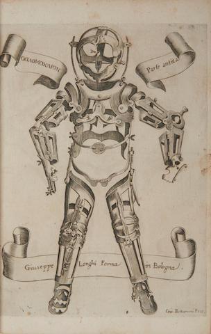 FABRICIUS AB AQUAPENDENTE. c.1533-1619. L'Opere Chirurgiche del Signor Girolamo Fabritio d'Aquapendente... Bologna: Per Giosesso Longhi, 1678.