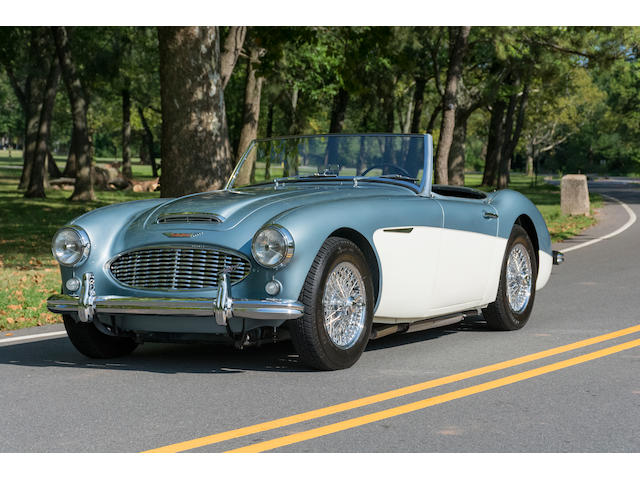 <b>1959 Austin-Healey 100/6 Two Seater Roadster  </b><br />Chassis no. BN6-L/3420 <br />Engine no. 26D-RU-H/70138