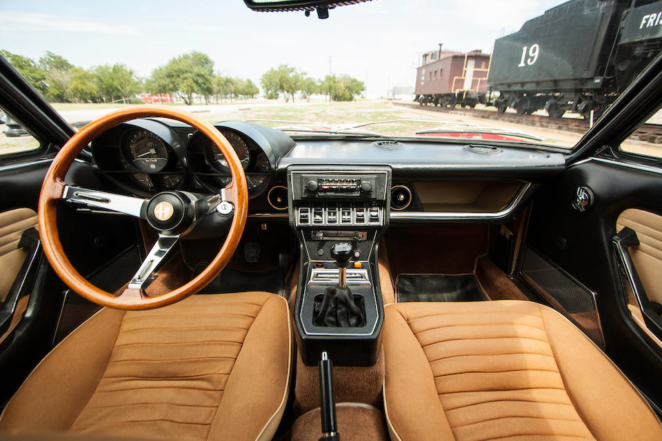 <b>1975 Alfa Romeo Montreal Coupe <br />Coachwork by Bertone  </b><br />Chassis no. AR1428606 <br />Engine no. AR0056451070