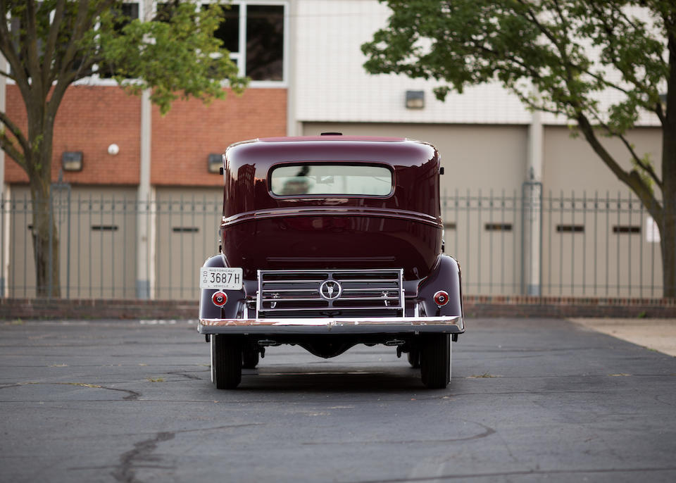 <i>Property from the Canton Classic Car Museum</i><br /><b>1932 Cadillac V16 452-B 5-Passenger Sedan  </b><br />Chassis no. 1400238 <br />Engine no. 1400238