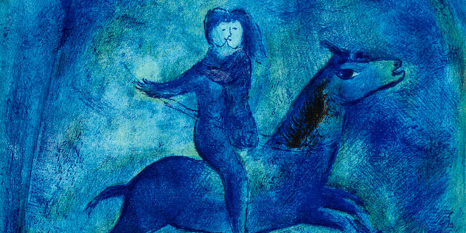 Marc Chagall's Most Important Illustrated Book To Feature At Auction At Bonhams New York