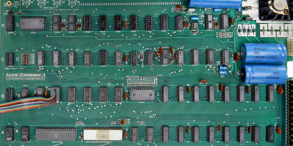 APPLE 1 COMPUTER. Apple 1 Motherboard,