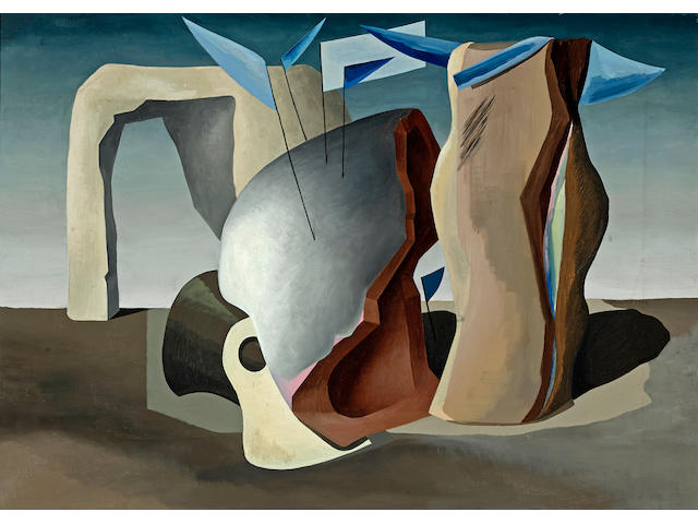 Charles Howard (1899-1978) Grotto, 1932 24 x 34in. (61 x 86.4cm)
